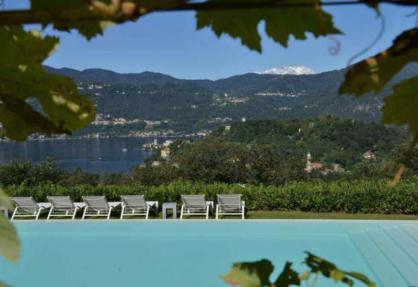 Agriturismo Lake Maggiore with outstanding views