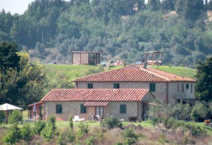 Authentic agriturismo in Tuscany with great views