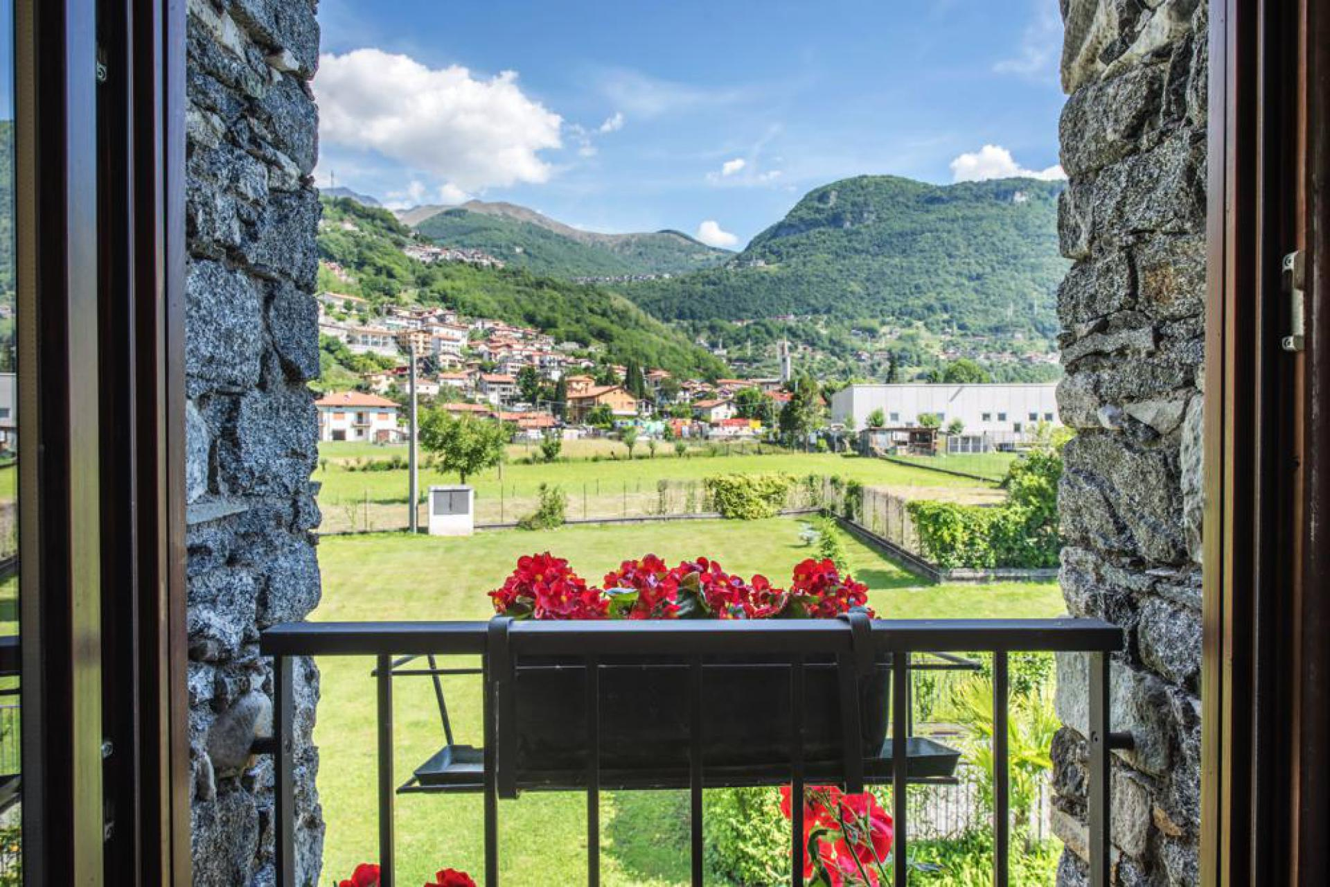 Characteristic agriturismo within walking distance of Lake Como