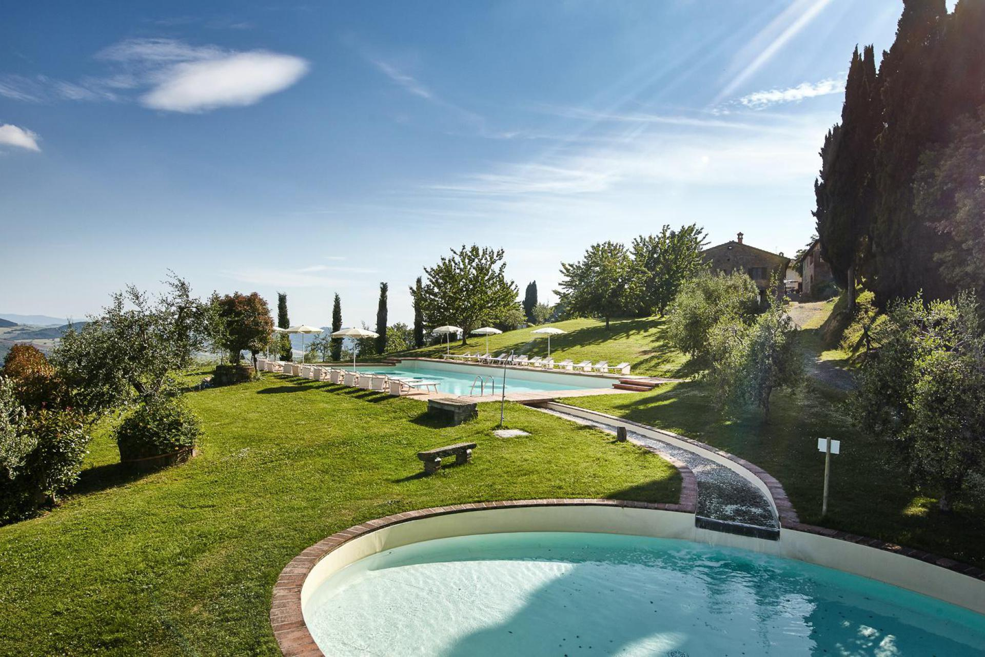 Characteristic agriturismo in the heart of Tuscany